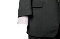abito nero-pois (4)